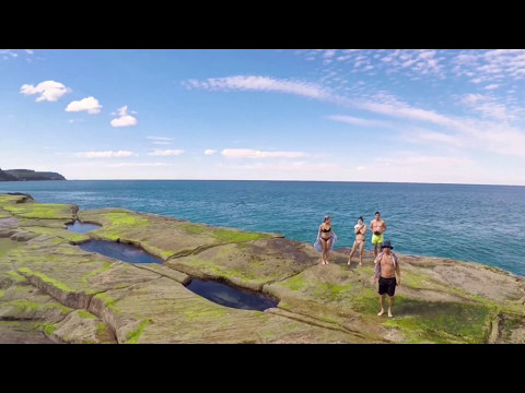 Burning Palms Beach : Sydney Australia