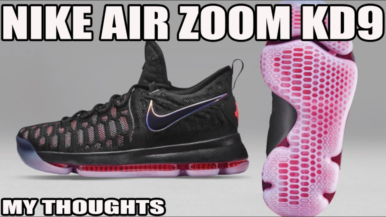 the best attitude 44f85 1495d Nike Air Zoom KD9 Flyknit First Look Thoughts!