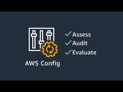 AWS Config: Assess, Audit, and Evaluate You AWS Resources