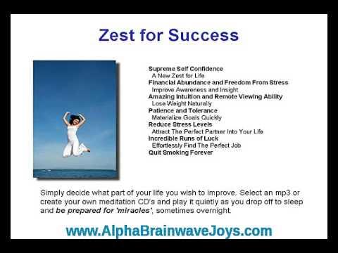 A better life with alpha brainwave entrainment & meditation CDs