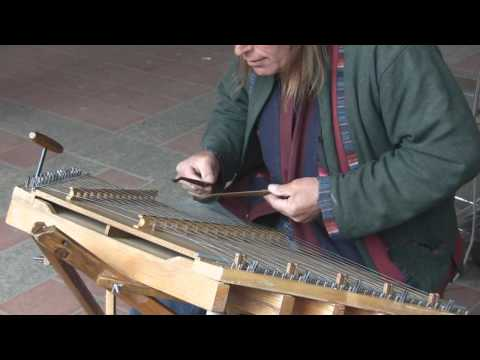Amazing Hammered Dulcimer Player in Central Park NYC