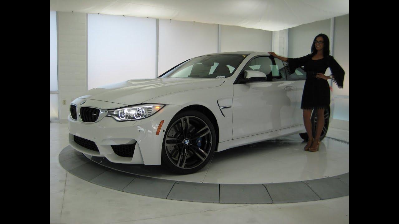 BMW M4 Full LED Lights / Exhaust Sound / 19` Black M ...