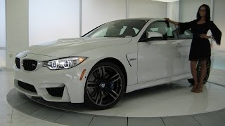 "BMW M4 Full LED Lights / Exhaust Sound / 19"" Black M Wheels / BMW Review"