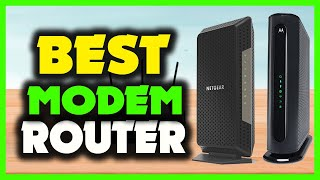 ✅ TOP 5: Best modem router combo for spectrum 2021 [Best Cable Modems of 2021]