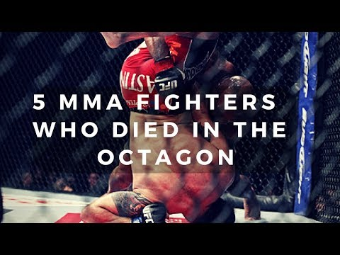 5 MMA Fighters Who Died In The Octagon
