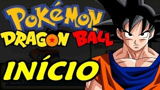 Dragon Ball Z Team Training (Pokémon Hack Rom - Parte 1) - O Início