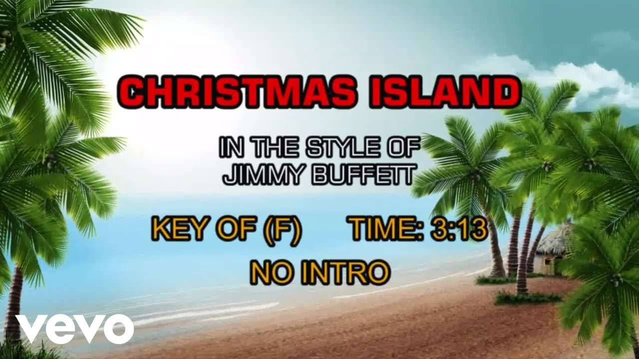 jimmy buffett christmas island karaoke