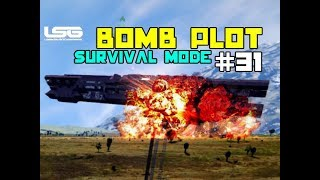 Explosive Tunnels Under Our Base - Colony Wars - Space Engineers - Part 31