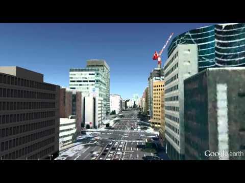 Sendai city center guide.