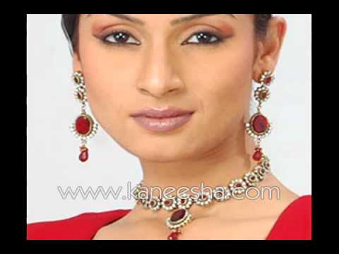 Victorian Gold Fashion Jewelry, Indian Designer Jewelry