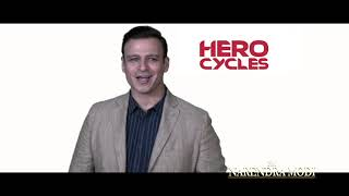 Hero Cycles present the story of the incredible Prime Minister of India