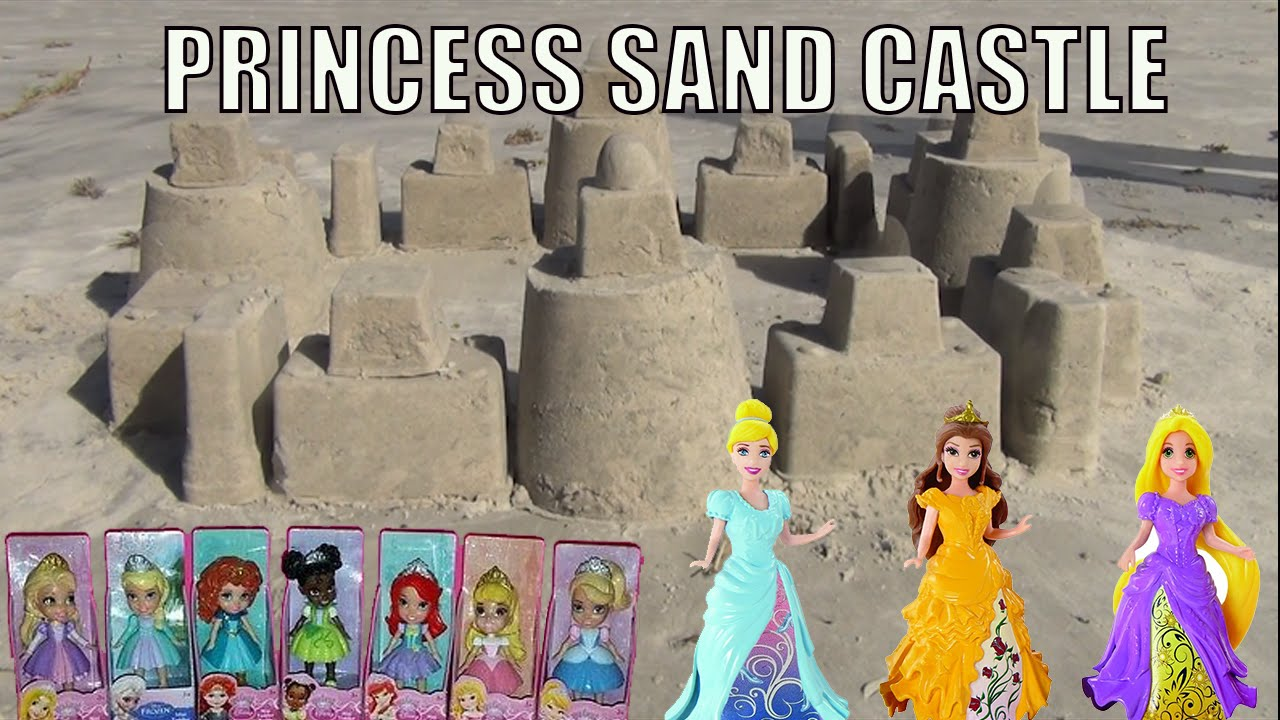 Make Princess Sand Castle with Only Household Containers