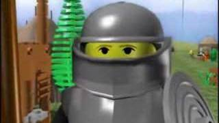 A Knight's Tale Lego animation