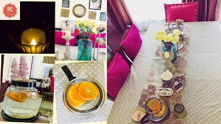 INDIAN DINING TABLESCAPE DECOR FT ARMY HOUSE !