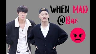 BTS YoonJin - When Mad at Bae