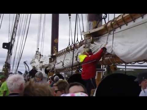 Sailing on the Bluenose II  - July 26th 2015