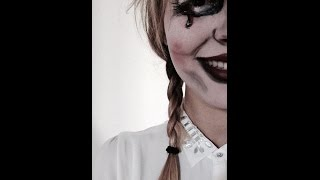 Maquillage Halloween -  Poupée Annabelle (Conjuring)