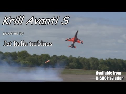 TWIN HOVERING turbine jets (Krill Avanti S, Jet Italia turbines, BISHOP aviation)