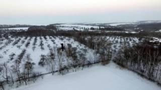 Політ в мороз, село Курівка