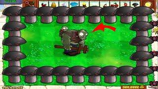 Doom-Shroom vs Gargantuar Zombie - Plants vs Zombies Battlez