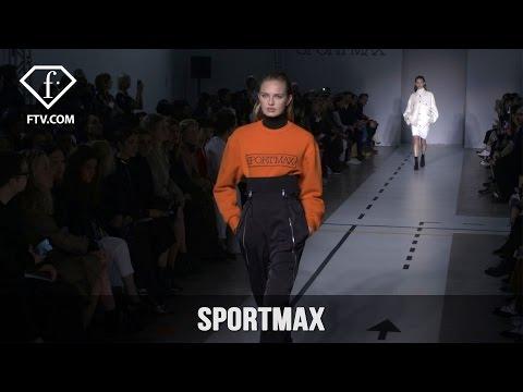 Milan Fashion Week Fall/WInter 2017-18 - Sportmax | FashionTV