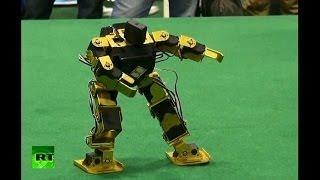 В Пекине роботы танцуют под Gangnam Style(В столице КНР более 400 студентов из 33 вузов страны представили свои разработки на двухдневном фестивале..., 2013-11-04T07:49:25.000Z)