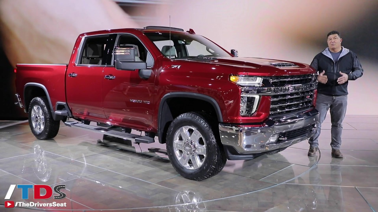 2020 Chevy Silverado 2500 HD Highlights at Chicago Auto ...