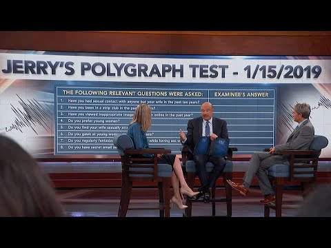 Dr. Phil Tells Woman Polygraph Test Husband Took 'Violated Basic Rules Of Examination,' In His Op…