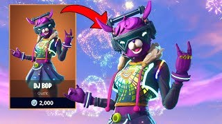 *NEW* DJ BOP NEW YEARS SKIN & RANDOM DUOS! | Ex-Pro Fortnite Player | Fortnite Live Stream
