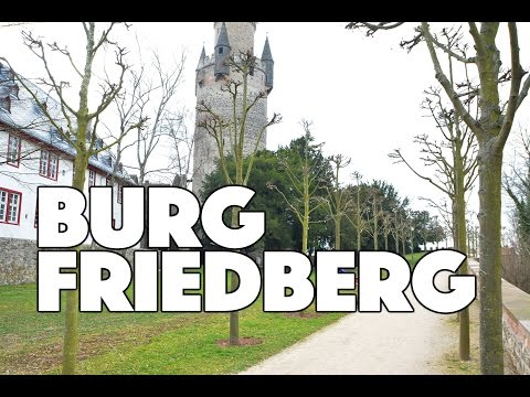 ROAD TRIP: visiting Burg Friedberg - driving from Frankfurt am Main / Germany March 2017