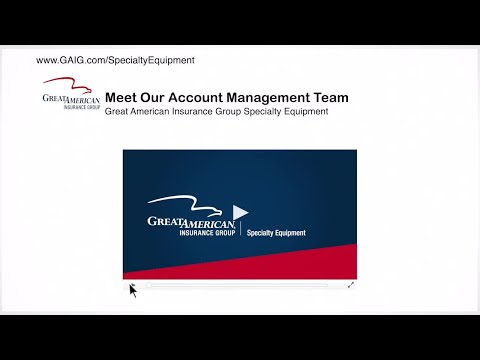 Specialty Equipment - Meet Our Account Management Team - Great American Insurance