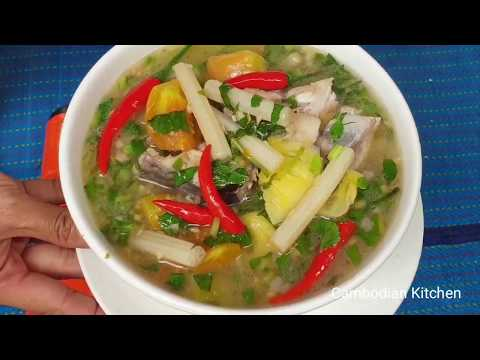 Sweet And Sour Fish Soup With Mixed Fresh Vegetables - Vietnamese Soup
