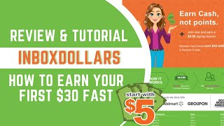 InboxDollars Review - How To Make $30 FAST + WinIt Code 2019