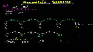 Introduction to Geometric Sequences -Geometric Series - Geometric Progression