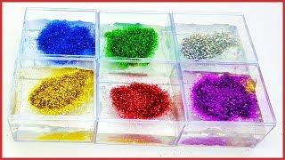 Simlerle Rengarenk Clear Slime, Rengarenk Şeffaf Slime, Jokerleme