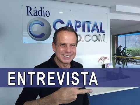 ENTREVISTA COMPLETA - João Doria é entrevistado por Eli Corrêa na Rádio Capital - 07/04/2017