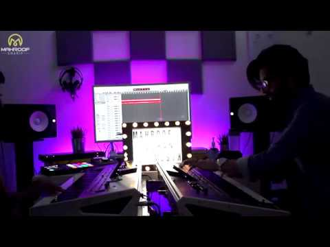 Kamar Bareek And Gul Mast Mix Instrumental 2018 HD- Duran Etemadi And Mahroof Sharif