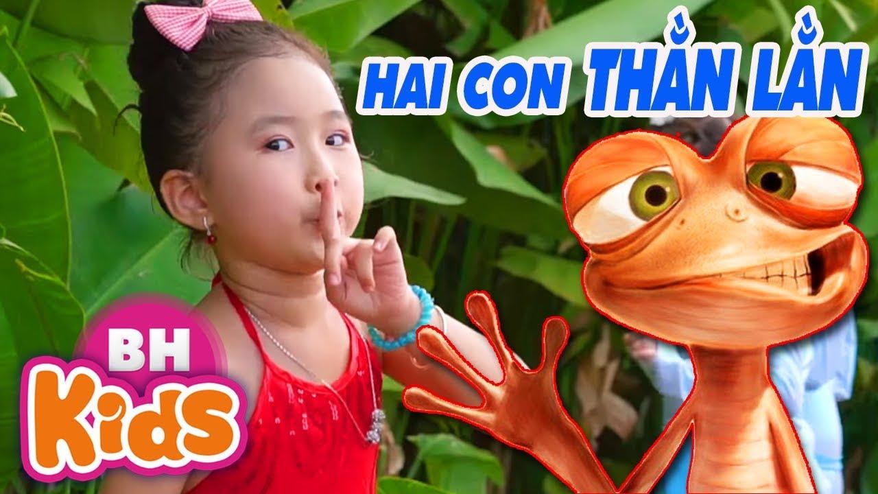 Download Hai Con Thằn Lằn Con - Candy Ngọc Hà   Nhạc Thiếu Nhi