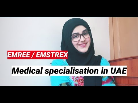 EMREE  Medical Residency training programs UAE  Medical Spec