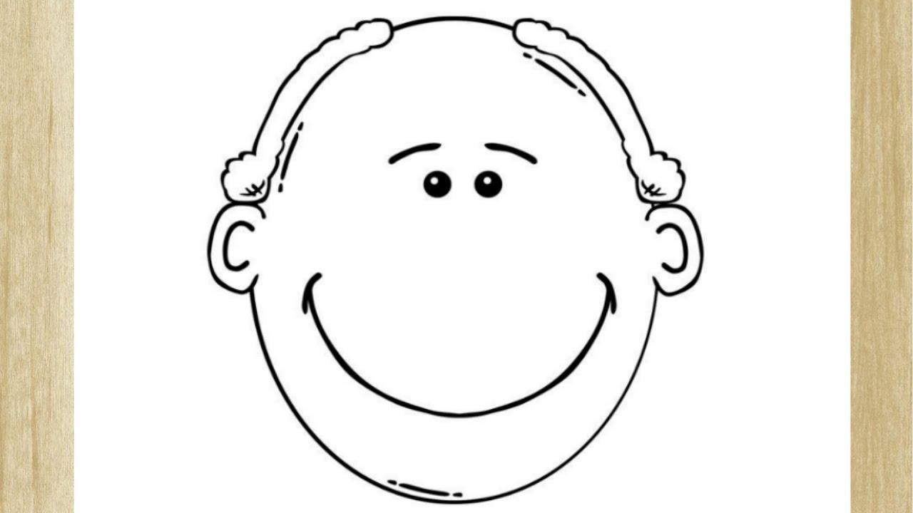 Como Desenhar O Rosto De Um Homem Idoso How To Draw Old Man