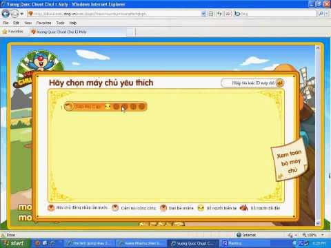 Cách làm lại web game moly để chơi part 2