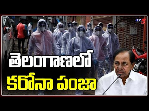 Hyderabad: 12000 Positive in 10 days   Total 29536 Cases in Telangana   TV5 News