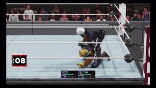WWE 2K19 all custom super star Royal Rumble