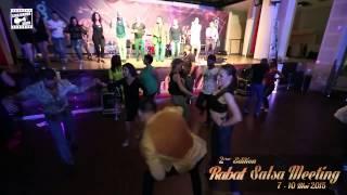 Marco & Edyta - salsa dancing @ RABAT SALSA MEETING 2015