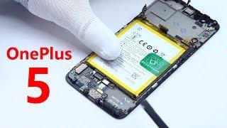ABRIMOS MI OnePlus 5 - TODOS los COMPONENTES!