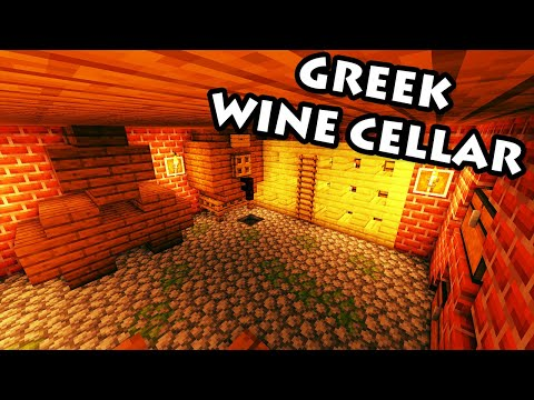 how-to-build-a-wine-cellar-in-minecraft---greek-house-tutorial-#3