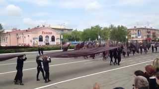Парад День Победы Уссурийск 2015 - Салют Победы!