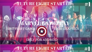 FUTURE FIGHT GAMEPLAY //PS GRAPHICS//ACTION GAME ONLY FOR ANDROID