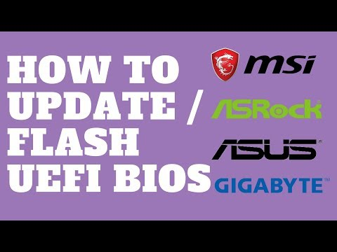 How To Update UEFI BIOS