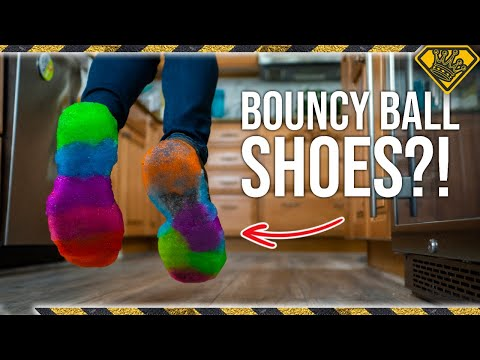 Do Bouncy Ball Shoes Make You Jump Higher?
